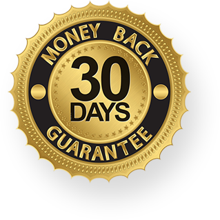 30 day money bak guarantee.
