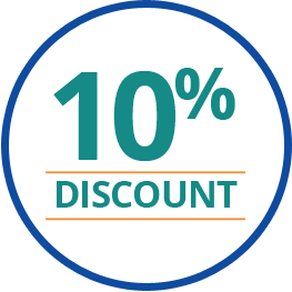 10% Off Badge