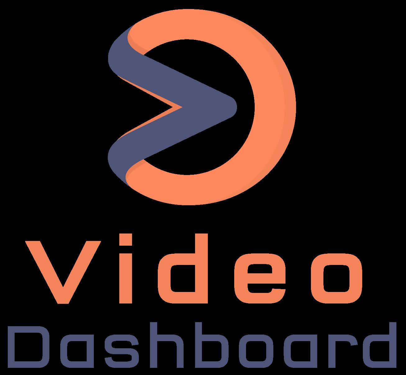 Video Dashboard app