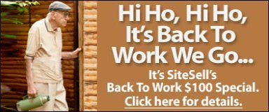 Site Build It! Labor Day Special