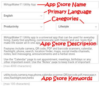 App Store Properties