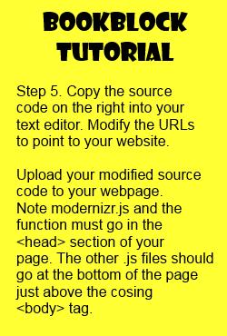Bookblock tutorial step 5