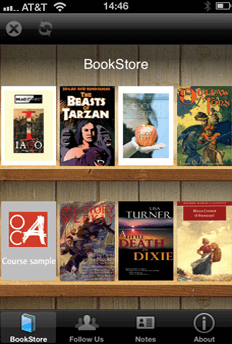 Newsstand Book Store Screenshot