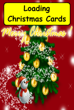 Christmas Cards Splash Screen
