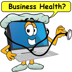 Business health computer doctor