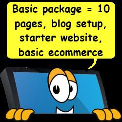 Basic website package