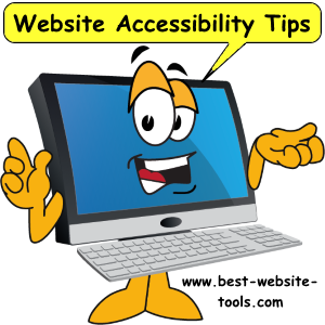 Website accessibility tips