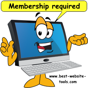 Membership site software and tutorial