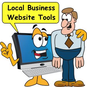 Local business website tools