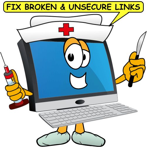 Website tip fix broken links