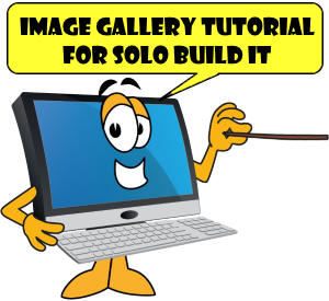 Image Gallery Tutorial for SBI