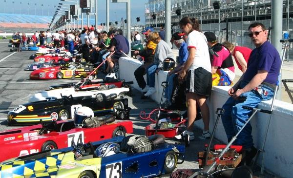 Daytona grid 2004