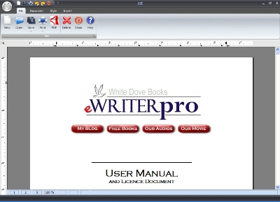 ewriterpro - comes with an easy to read user manual.
