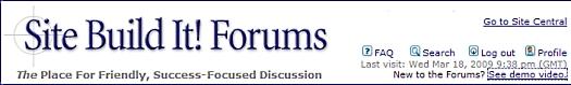 Visit the forums