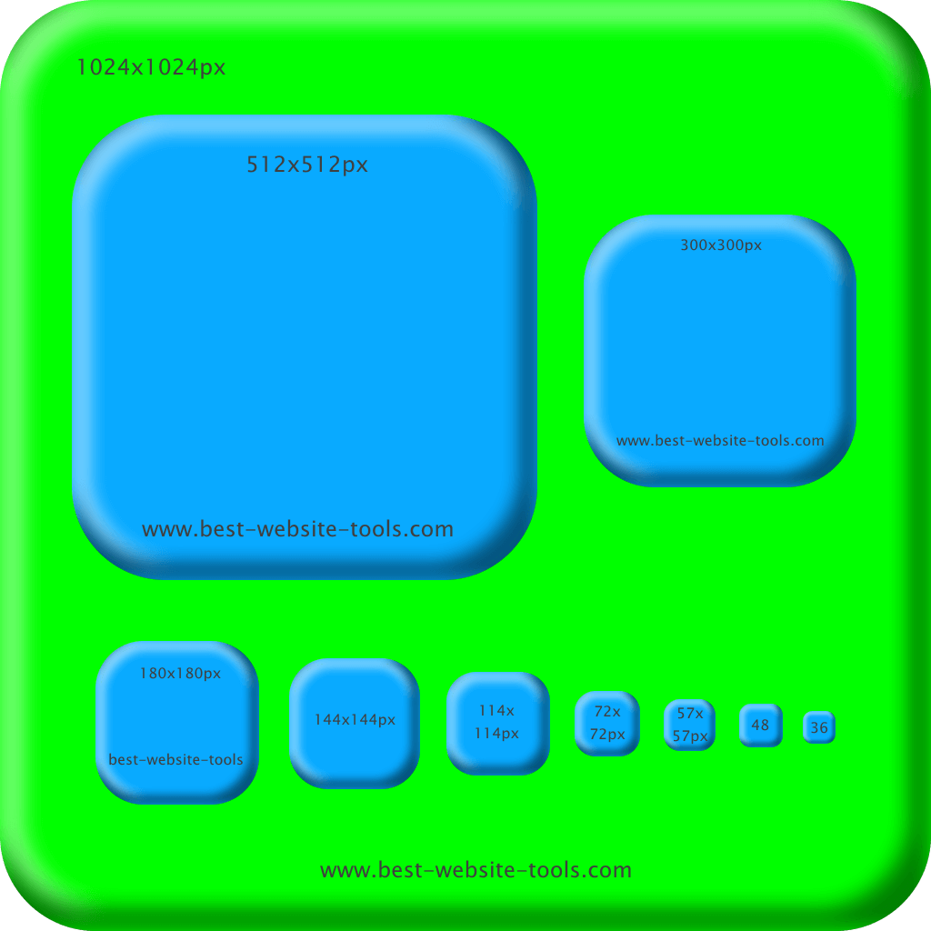 Icon Set green