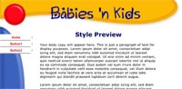 Customized - Babies and Kids template