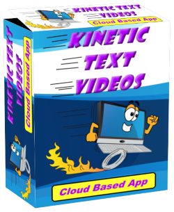 Kinetic Text Videos App Logo