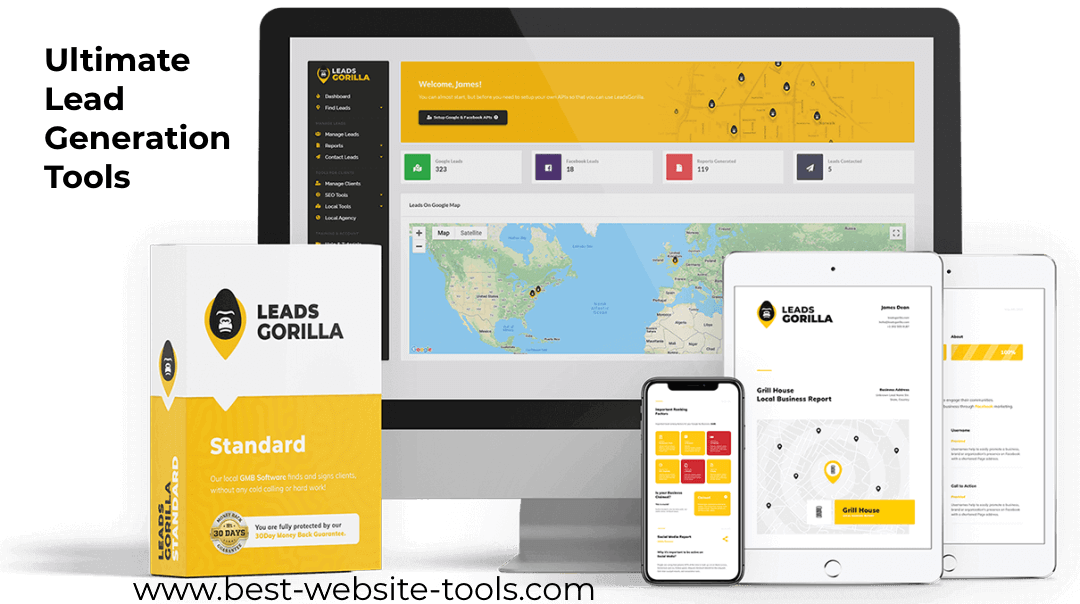 Leads Gorilla ultimate lead generation tool