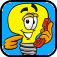 Lightbulb phone icon 57