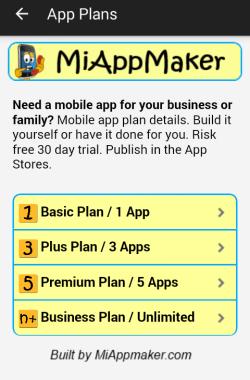 App Plans