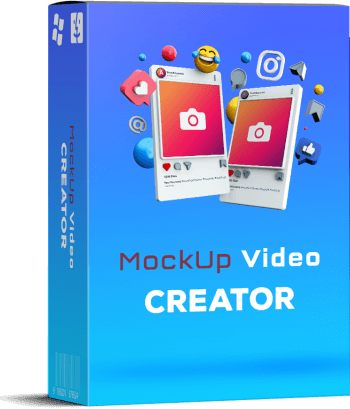Mockup Video Creator Box Cover