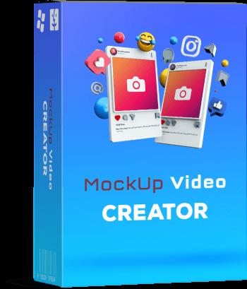Mockup Video Creator Box Cover
