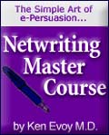 Netwriting Masters e-Course. Click here for free download.