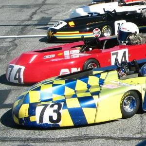 go kart nose cones at Daytona