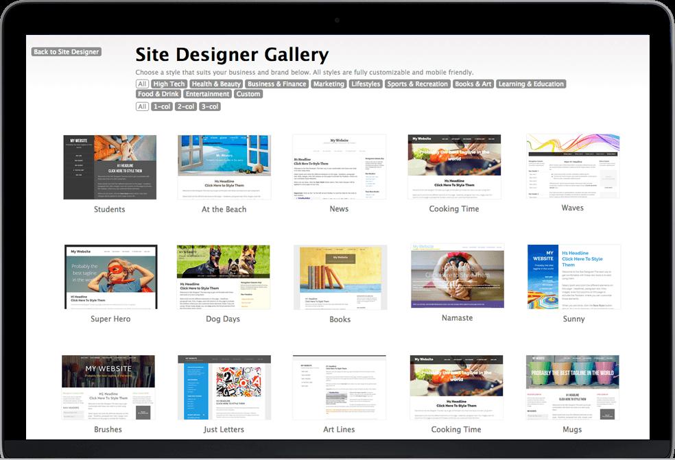 SBI template gallery