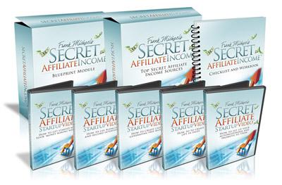 Secret Affiliate Income - blueprint for top marketers