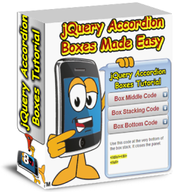 Accordion Boxes software and Tutorial