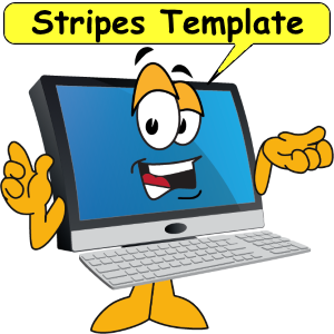 Stripes Template demonstration
