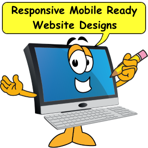 Mobile responsive website designs