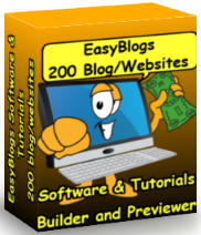 Dedicated blogging software.
