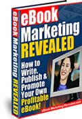 180 page ebook teaches you how to write, publish, promote and sell your ebook.