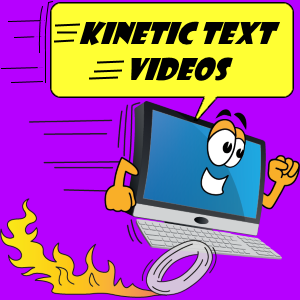 Kinetic Text Videos banner