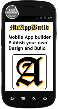 Mobile App Maker -- Create your own mobile app.