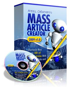 Mass Article Creator