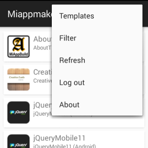 App Previewer Options