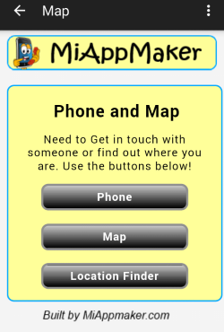 Map and Phone