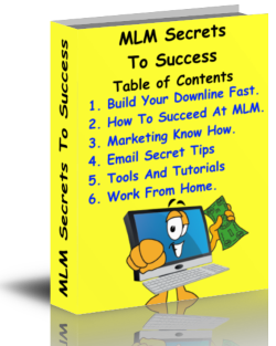 Multi-Level Marketing Secrets Mini-ecourse