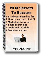 Multi-Level Marketing Secrets Mini-ecourse