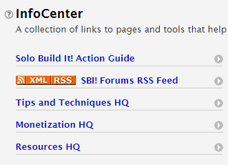SBI InfoCenter