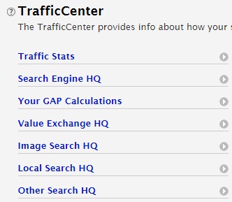Site Build It - traffic center