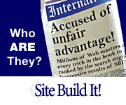 Site Build It - unfair advantage.