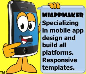 Mobile App Maker sign