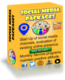 Social media packages box cover