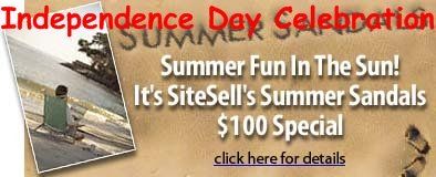 Site Build It! - Summer special