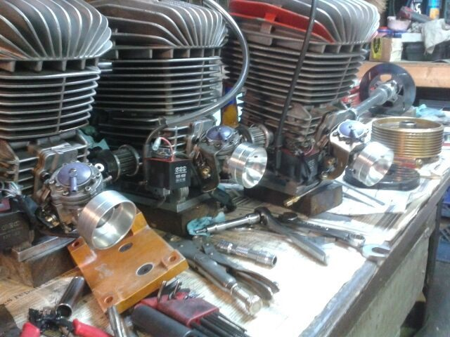 Racing motors prepared for TeamKoen Racing
